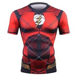 flash cosplay fitness shirt...
