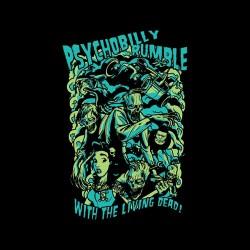 living dead psycho tshirt sublimation