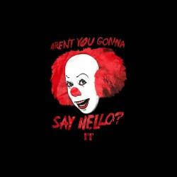 it say hello tshirt sublimation