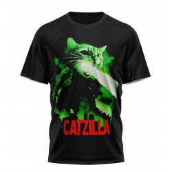 Catzilla tshirt sublimation