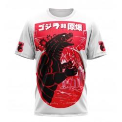 godzilla 3d tshirt sublimation
