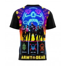 army of the dead tshirt sublimation