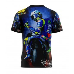 tee shirt Valentino Rossi 46 sublimation