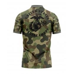 USMC united states marine corp shirt full sublimation