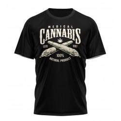 tee shirt cannabis medical...