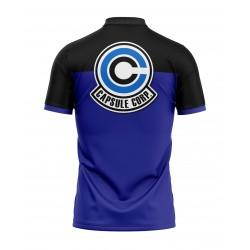 dbz capsule corp polo shirt full sublimation