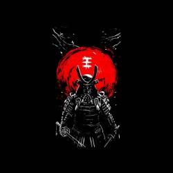 samurai tunsei tshirt sublimation
