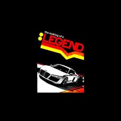 Audi legend tshirt sublimation