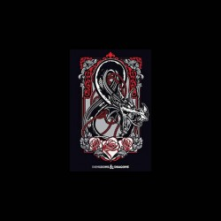 Dungeons & Dragons tshirt sublimation
