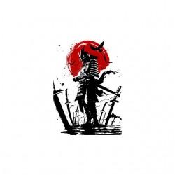 samurai afterwar tshirt sublimation
