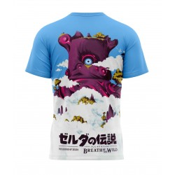 tee shirt breath of the wild version japon sublimation