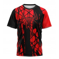 tee shirt metal spiderman...