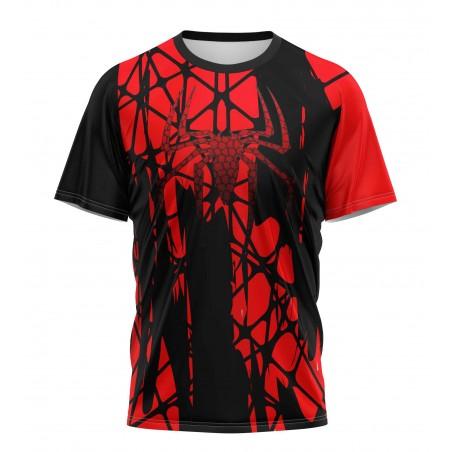 metal spiderman tshirt sublimation japan edition