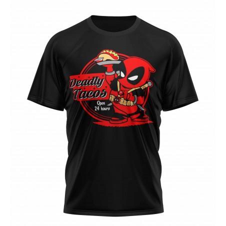 tee shirt deadpool tacos sublimation