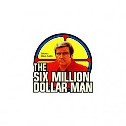 the six million dollar man shirt sublimation