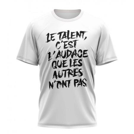 the talent shirt sublimation