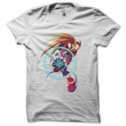 Megaman Zero T-Shirt in White Sublimation