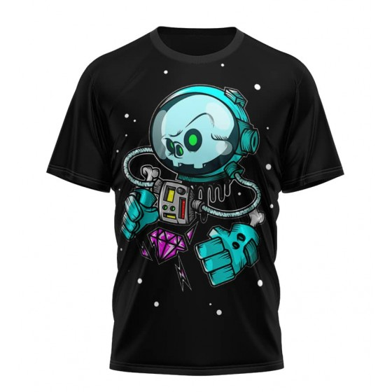 space cartoon gems shirt...