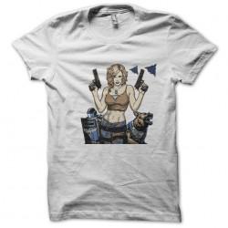 Tee shirt alerte  en  sublimation