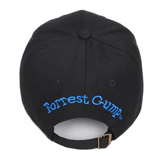 bubba gump forrest gump cap black