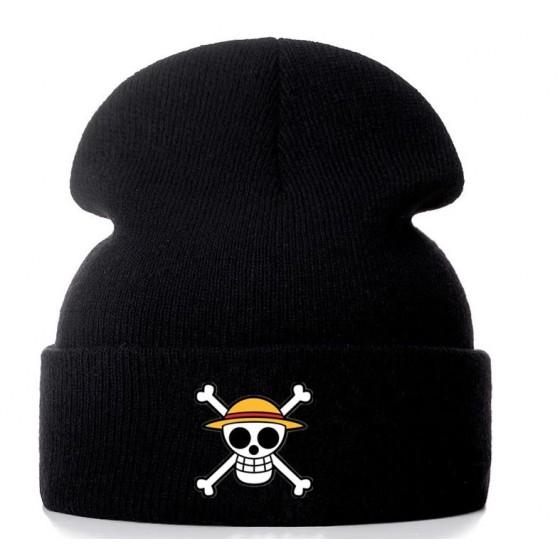 One piece winter hat