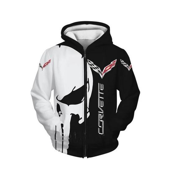 corvette jacket hoodie