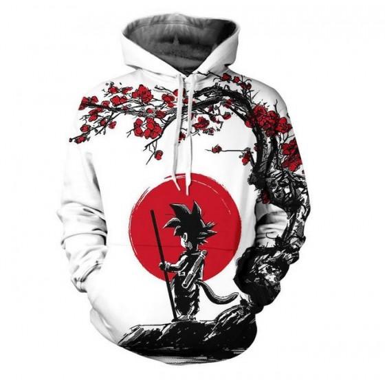 dragon ball classic hoodie...