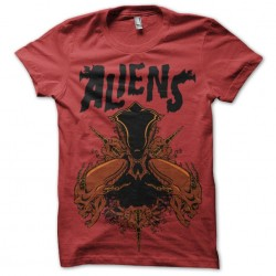 tee shirt Aliens...