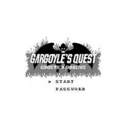 Tee shirt Gargoyle's Quest...