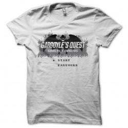 Tee shirt Gargoyle's Quest start screen  sublimation