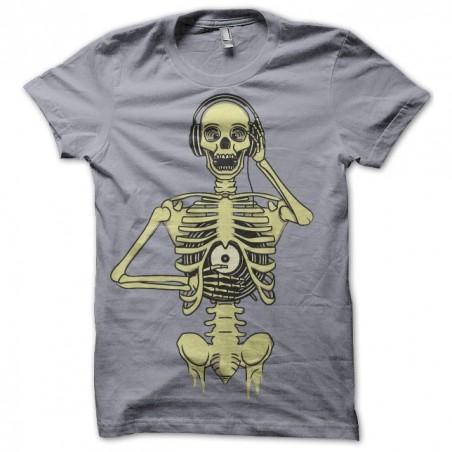 DJ Sublimation DJ Skeletal Tee Shirt