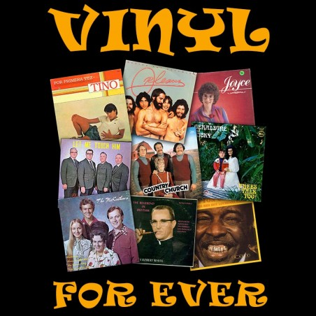 Vinyl for Ever black sublimation t-shirt