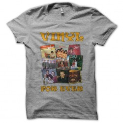 tee shirt Vinyl for Ever gris sublimation