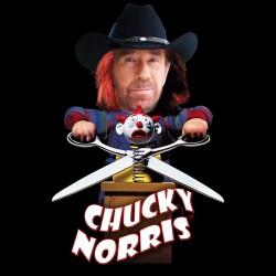 shirt Chucky Norris black...