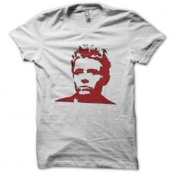 Tee shirt James Dean pochoir fan art  sublimation