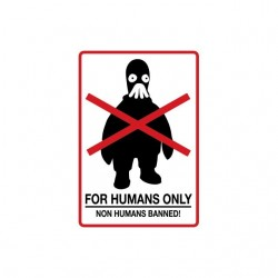 Tee shirt For Humans Only...