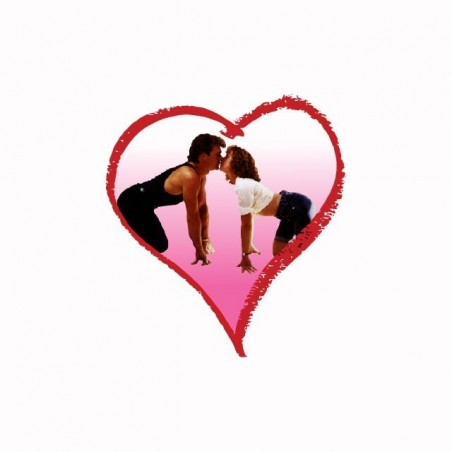 Tee shirt Dirty Dancing love  sublimation