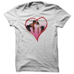 Dirty Dancing love white sublimation t-shirt