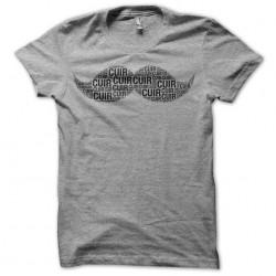 Mustache Leather T-shirt...