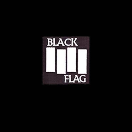 black flag rock metal winter hat