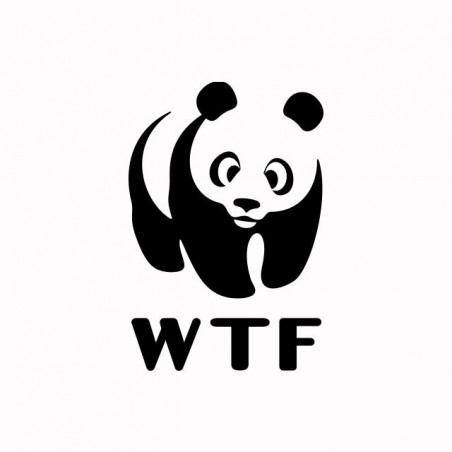 Tee shirt WWF parodie What The Fuck  sublimation
