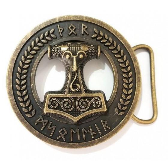 vikings belt buckle with...
