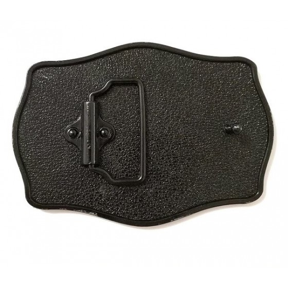 jack daniel's belt buckle with optional leather belt