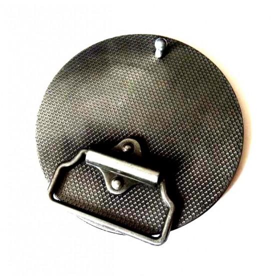 deadpool belt buckle with optional leather belt