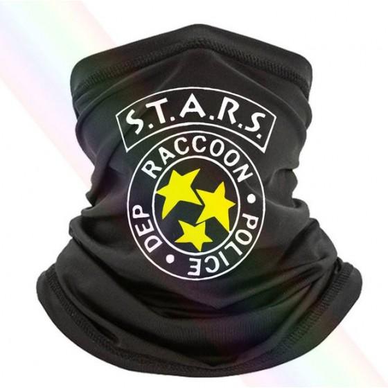 raccoon police stars neck...
