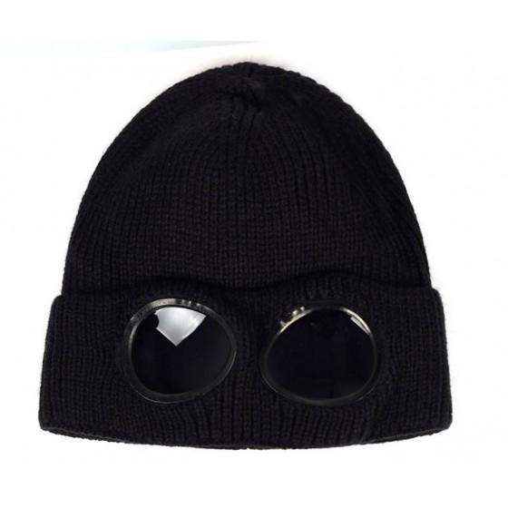 glass winter hat