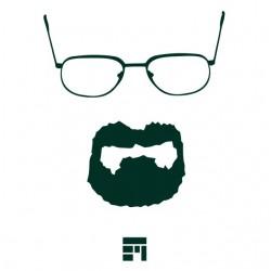 T-shirt Professor Heisenberg white sublimation