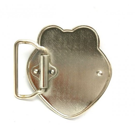 kermit the frog belt buckle with optional leather belt