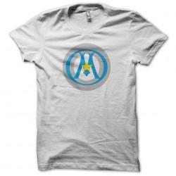Captain Fada parody t-shirt Massillia Captain America Olympique de Marseille