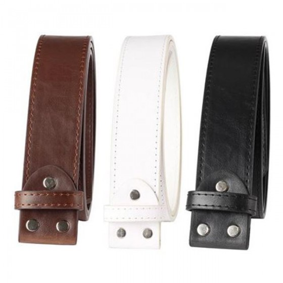 emo belt buckle with optional leather belt